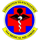 Logo: 61st Medical Squadron - Los Angeles Air Force Base